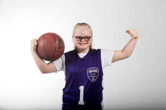 Madi Overcast, Cypress Lake, Special Olympics, Spring All-Area Athletes