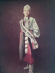 Tourtillott had been named Menominee Princess two years before she died.