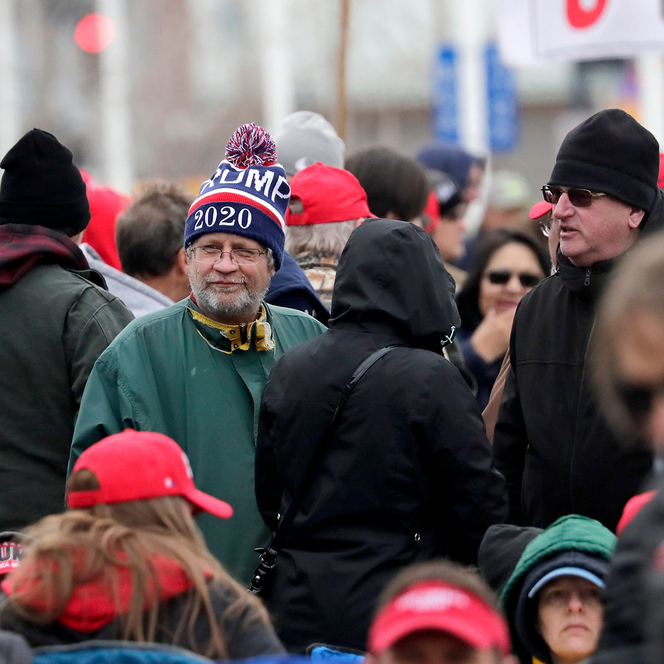 Donald Trump's Green Bay rally: Scenes from outside the Resch Center