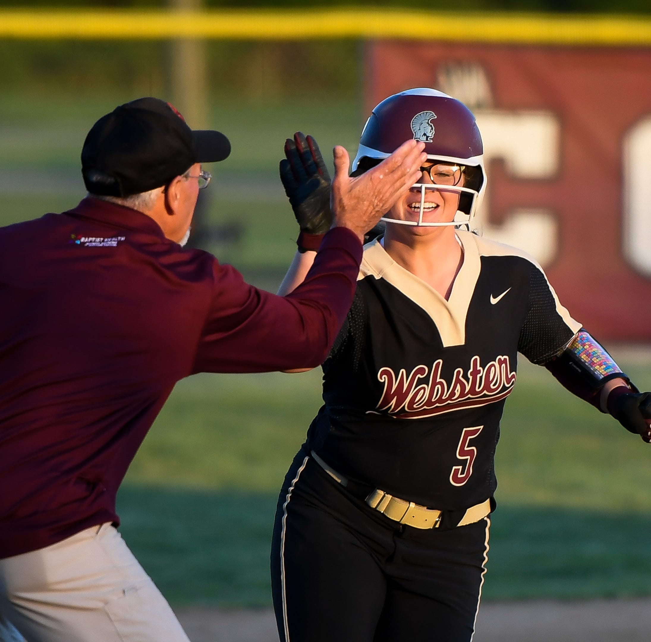 Grace Scott redeems herself with game-winning homer in Webster's 8-7 win over Henderson
