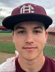 Henderson County senior baseball player Ethan Cartwright