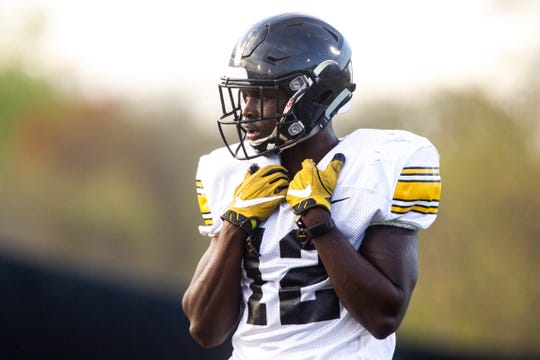 D.J. Johnson was a cornerback that Iowa was high on; he played a handful of games as a true freshman before starting the 2019 season at the cash position.