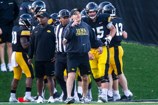 Phil Parker's 2018 Iowa defense ranked 11th nationally in fewest points allowed and was second in the Big Ten Conference.