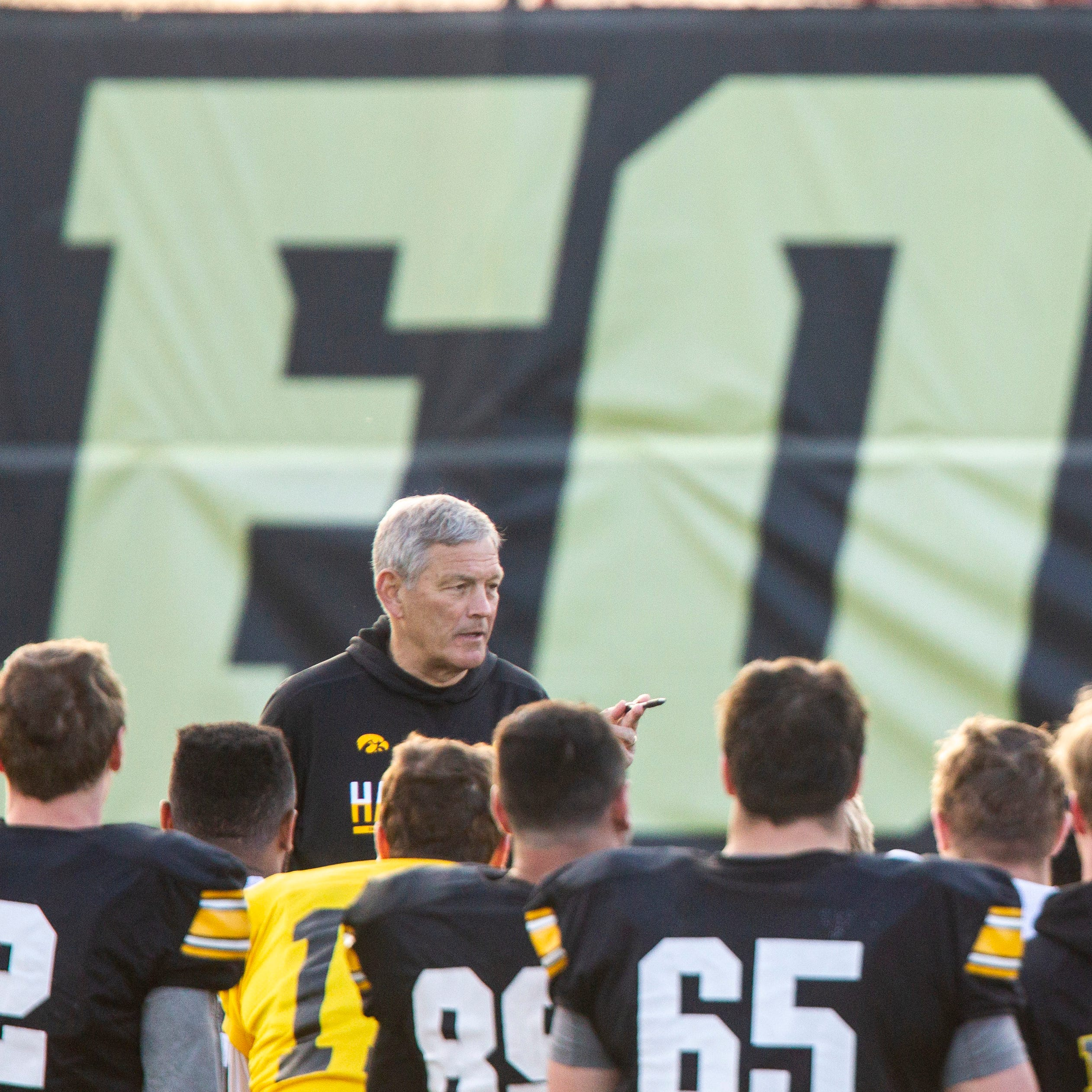 Leistikow: As spring practice ends, Kirk Ferentz lays down challenge for Hawkeyes