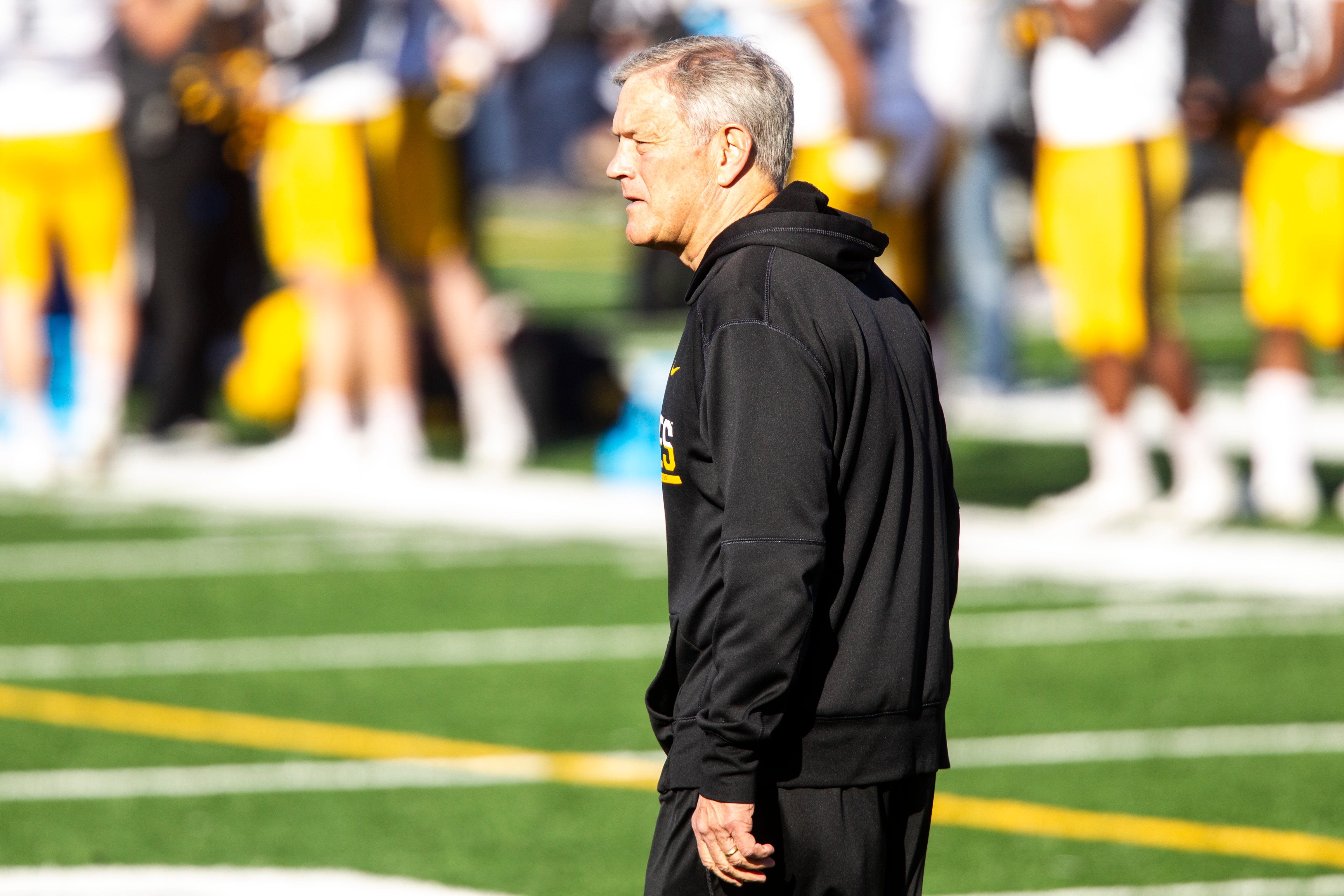 Kirk Ferentz's Iowa football program is at the center of a brewing lawsuit against the university.