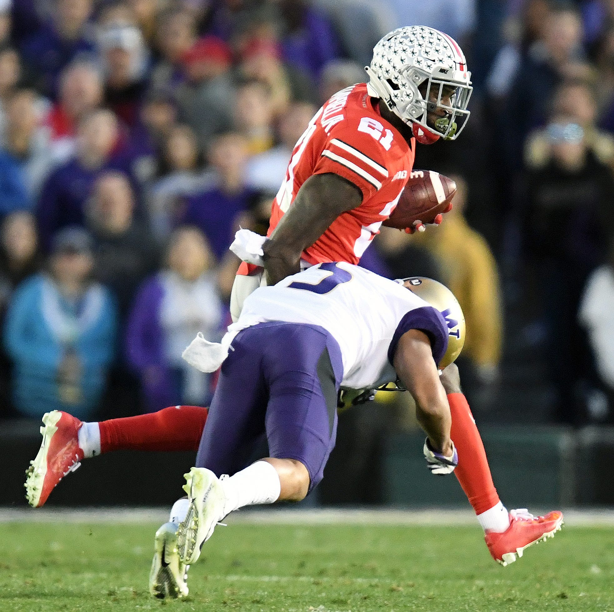 Colts grab versatile, speedy Ohio State receiver Parris Campbell with third second-rounder