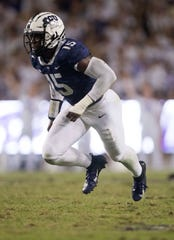 He played defensive end at TCU, but the Colts are going go try Ben Banogu at linebacker in Indy.