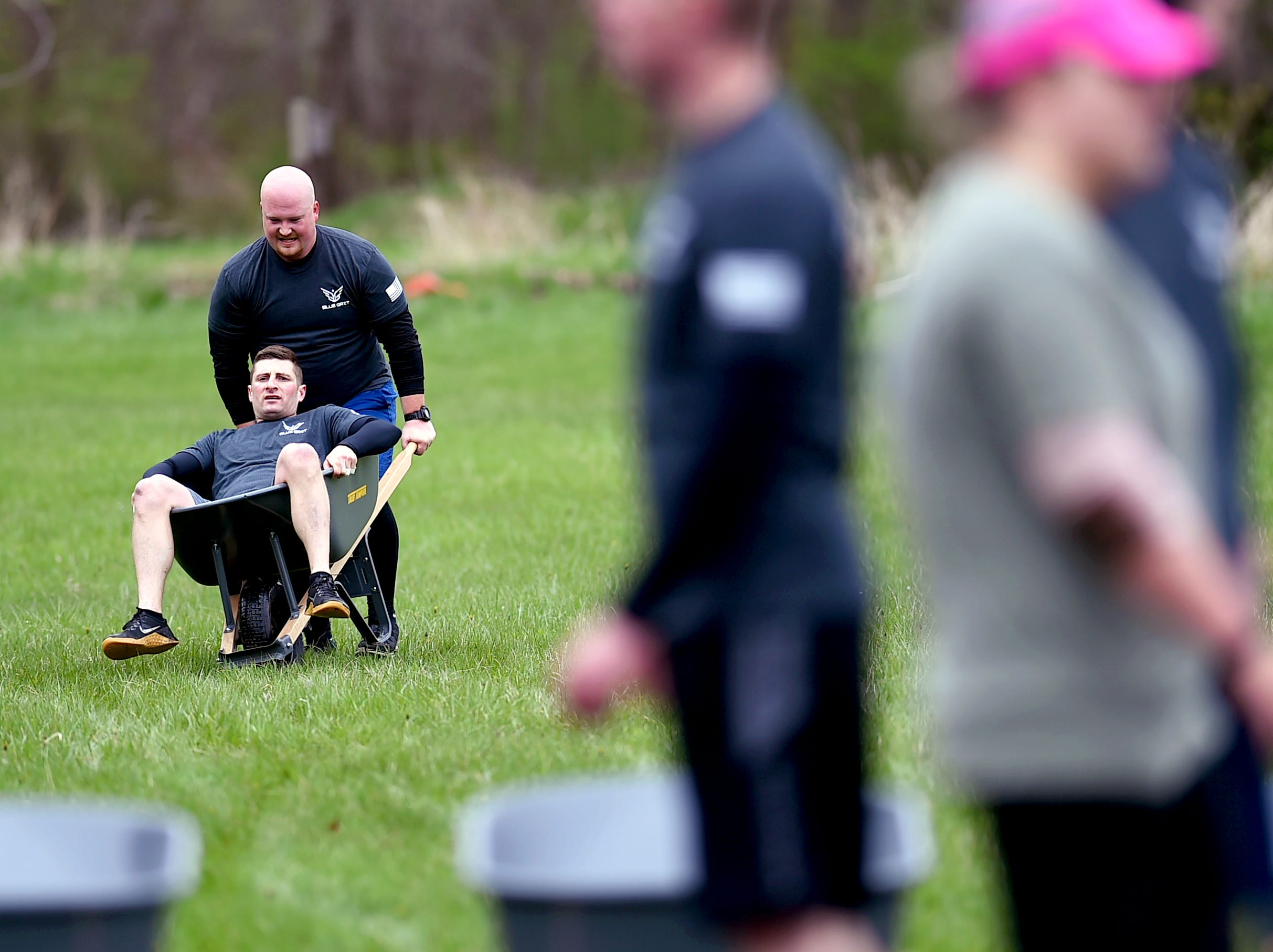 The 7th Annual Mud, Sweat and Cheers Extreme Fitness Challenge was held on Saturday, April 27, 2019 at Island Health and Fitness in Ithaca. The 5K obstacle course race is held in honor of Marine Cpl. Christopher Bordoni, an Ithaca native who died in 2012 after being wounded while conducting combat operations in Afghanistan.