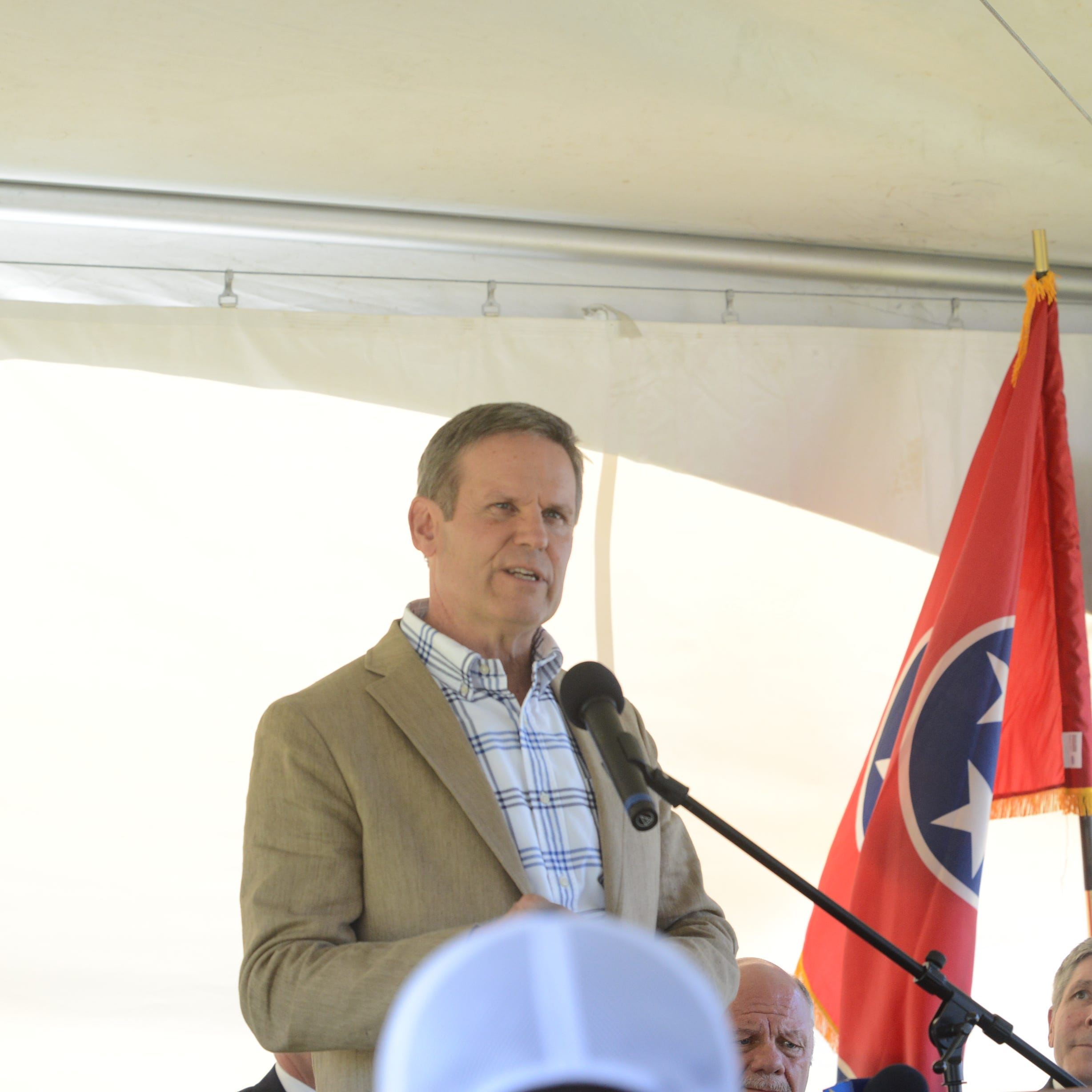 Gov. Bill Lee comes to Lexington and Selmer to announce over $10 million economic investments