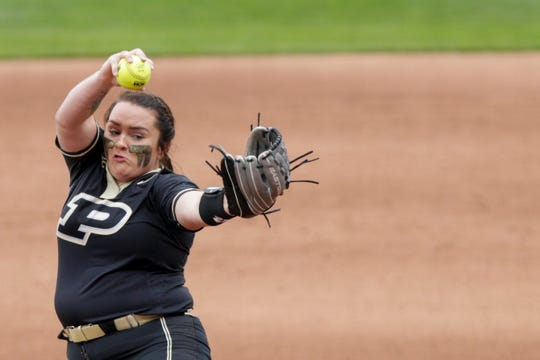 Harrison graduate Kaitlynn Moody has been a fixture in the circle for Purdue the past three seasons.