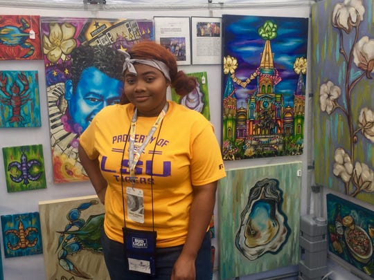 Harmani Shante' Johnson of Blu Magnolia Art LLC.