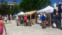 Festival International hosts many vendors selling handmade goods