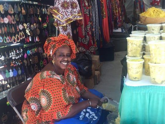 Toula, of Toula African Arts