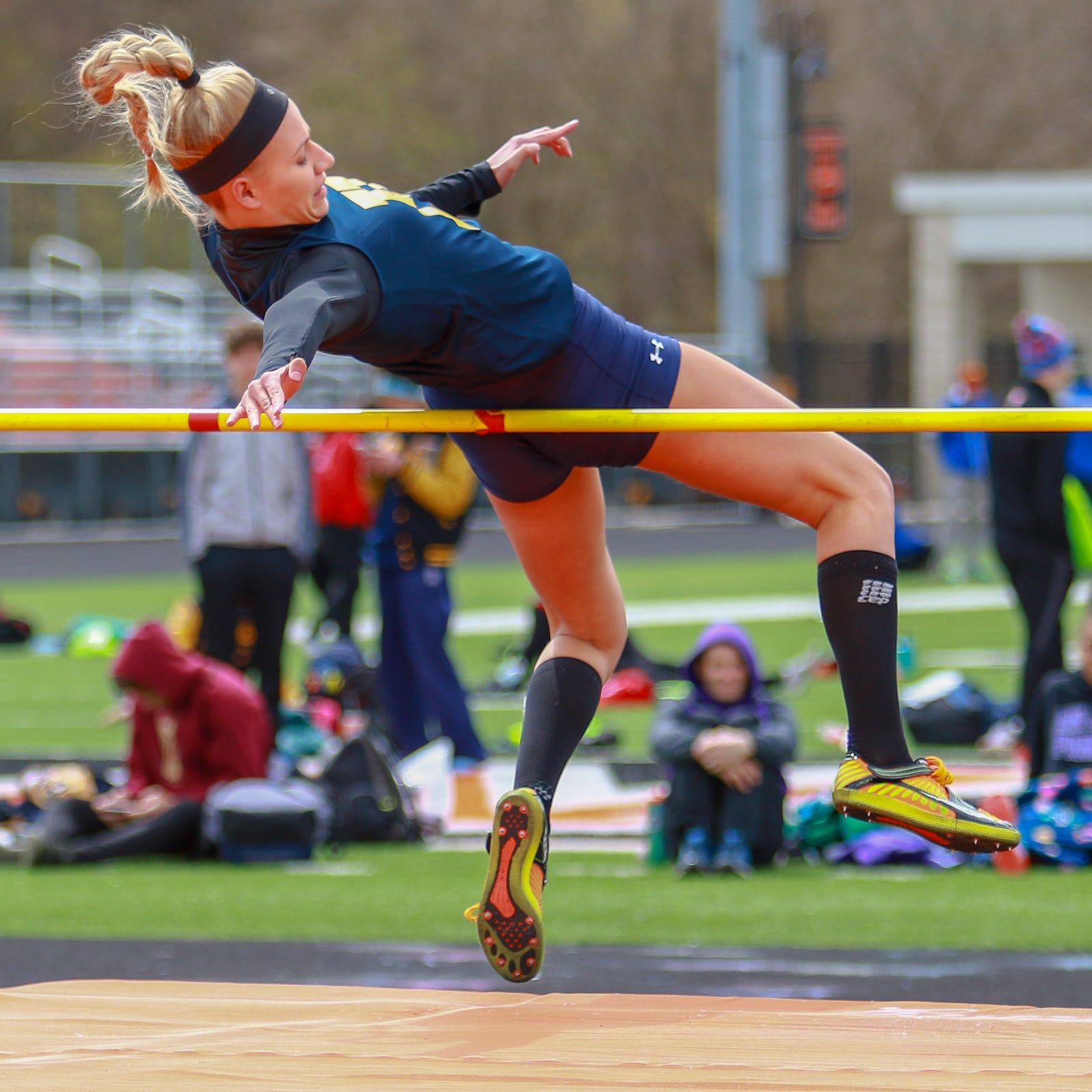 Frequent shoe changes part of routine for Hartland track and field star Lindsey Strutz