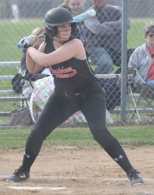 Crestview's Clare Robertson was named the Mansfield News Journal Female Athlete of the Week.