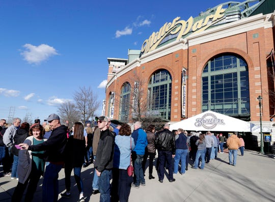 The Brewers are attempting to expedite entry into Miller Park by tightening up its bag policy for 2020.