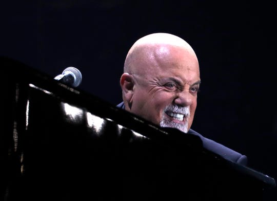 Billy Joel said his first appearance in Milwaukee was warming up for Sha Na Na. He entertained thousands of fans inside Miller Park Friday night.