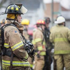 Muncie firefighters rescue woman who collapsed during apartment blaze