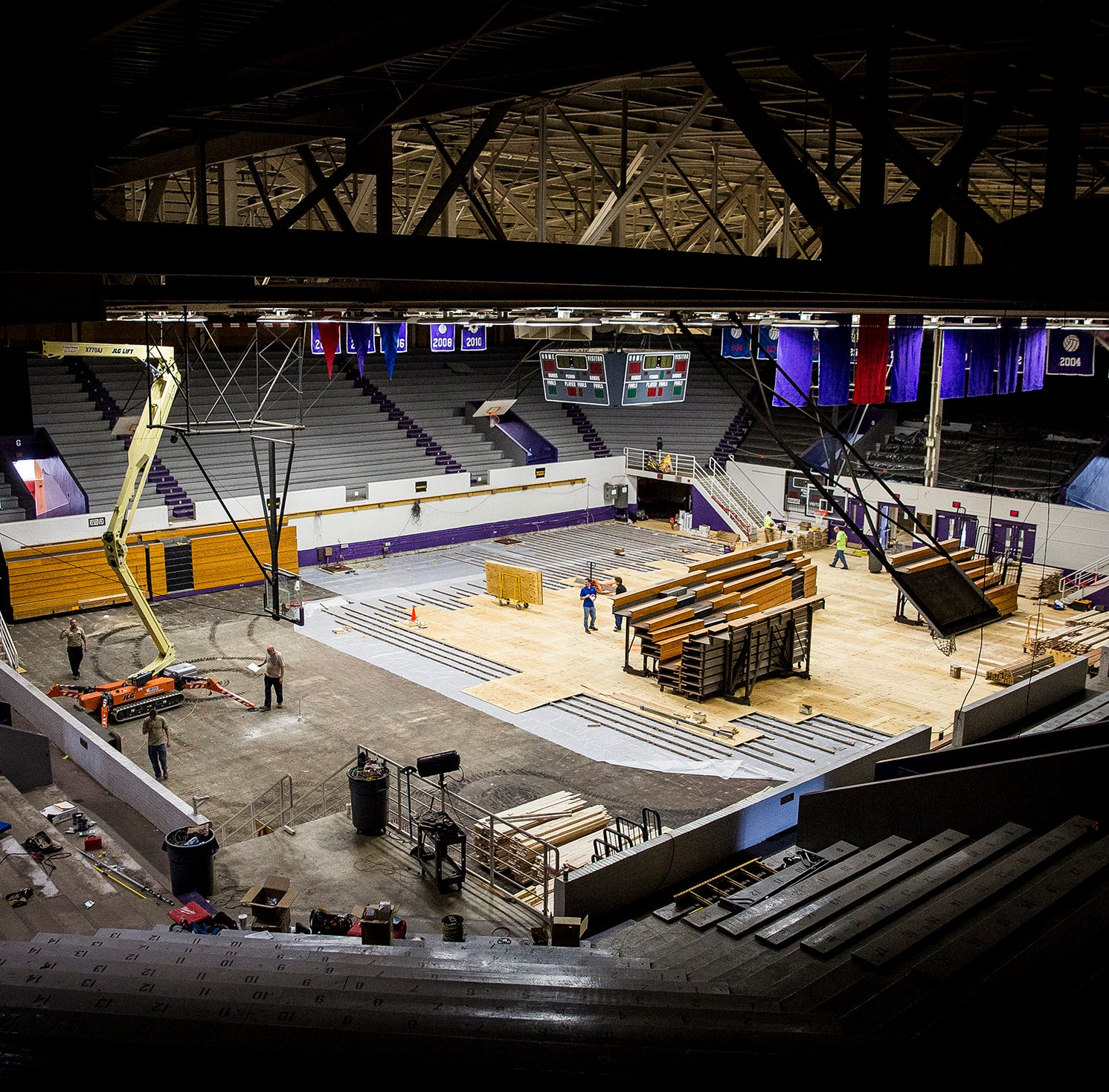 Muncie Fieldhouse to open this fall 'barring an act of God'