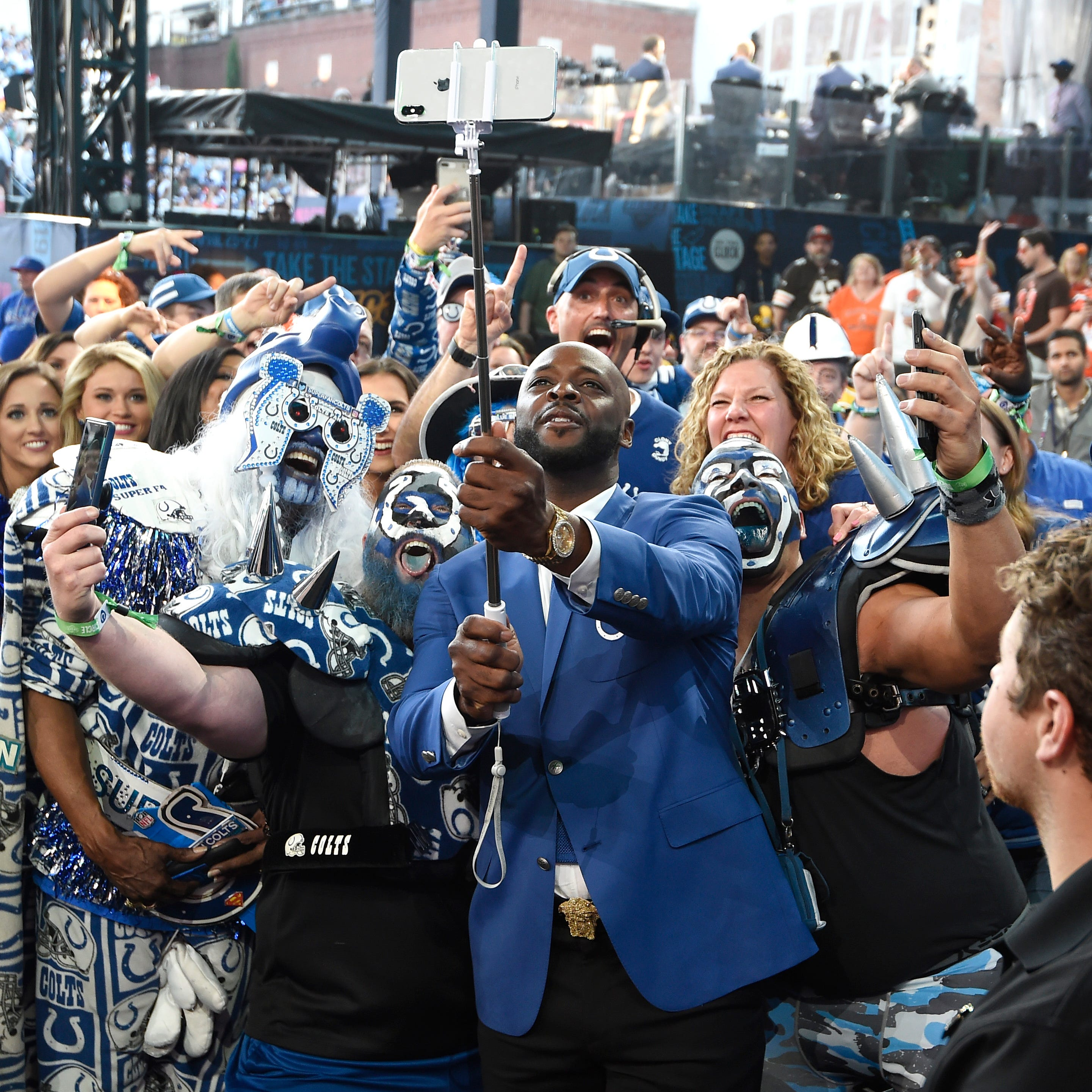 The NFL draft is now a big party. Here's how Indianapolis is trying to host it.