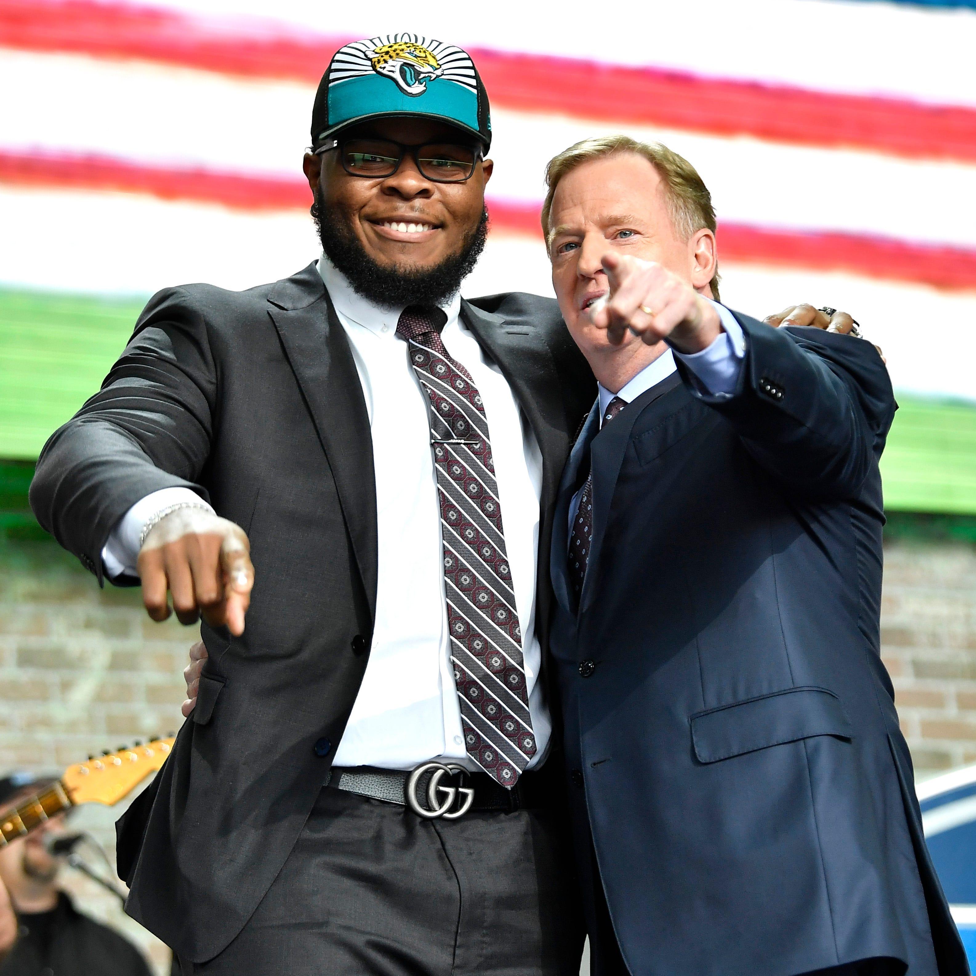 2019 NFL Draft: Jags claim Cocoa High's Jawaan Taylor, Dean to Bucs