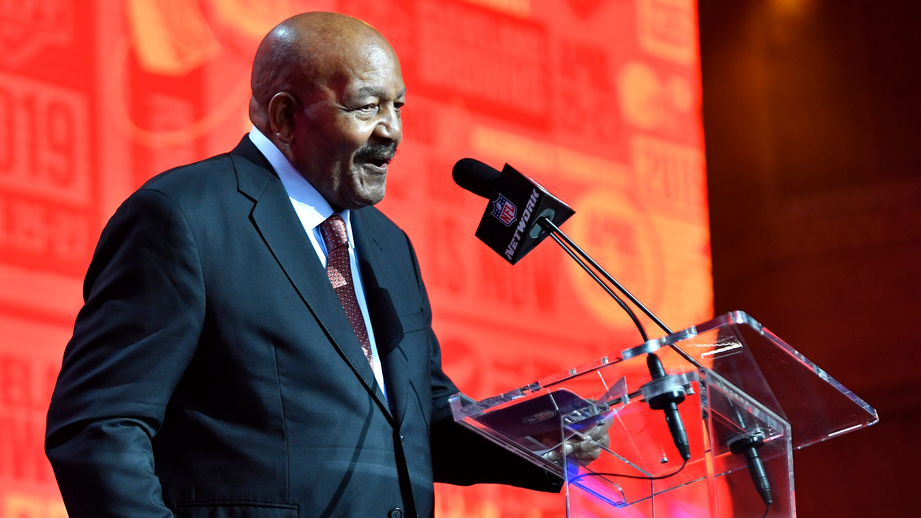 NFL Draft 2019: Jim Brown announces Cleveland Browns ...