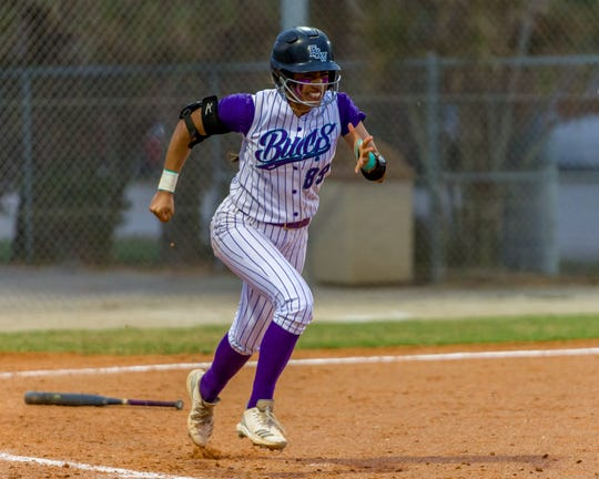FSW's Rebeca Laudino recently saw her 49-game hitting streak come to an end. Her streak broke the all-time collegiate record of 44 games, set by Heather Bortz of NCAA Division II school Moravian in 2004.