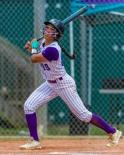 Rebeca Laudino leads FSW in batting average  (.529), on-base percentage (.577), runs (77), hits (92), stolen bases (43) and triples (4).