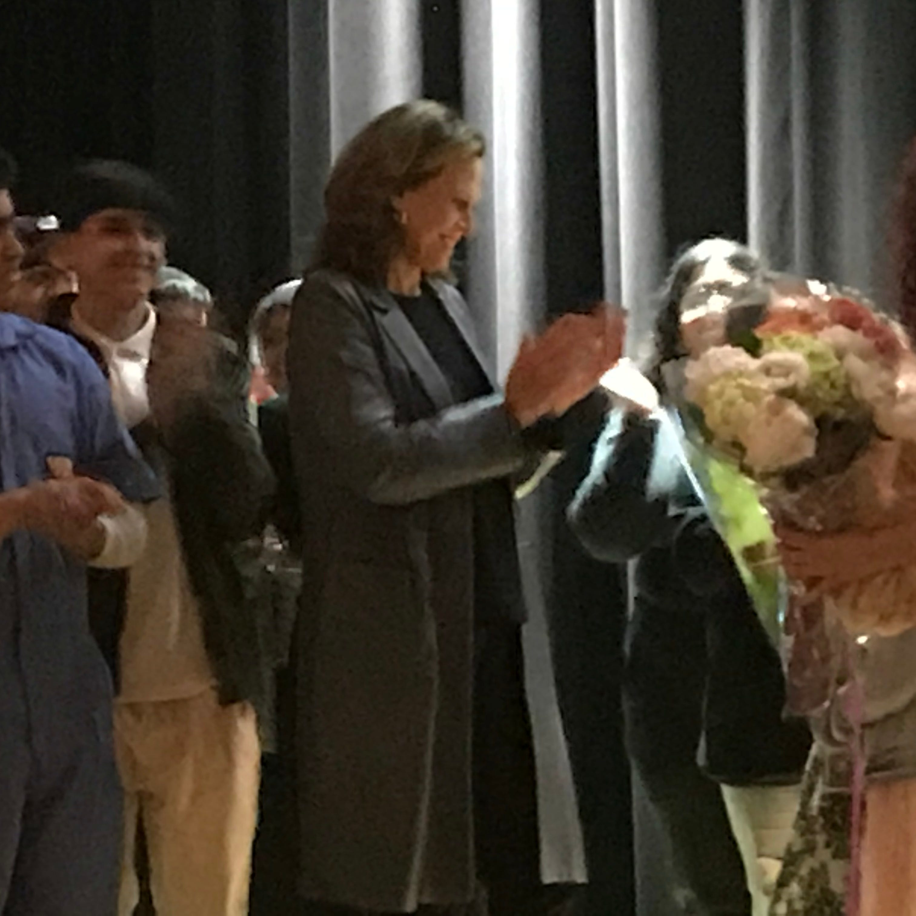 Sigourney Weaver makes appearance at North Bergen H.S. production of 'Alien' on Friday