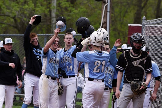 Mahwah ascended to the No. 1 ranking in the NorthJersey.com baseball Top 25 this week.