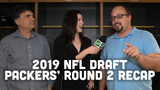 Tom Silverstein, Olivia Reiner and Ryan Wood discuss the Packers' two picks during Rounds 2 and 3 of the draft, Elgton Jenkins and Jace Sternberger.