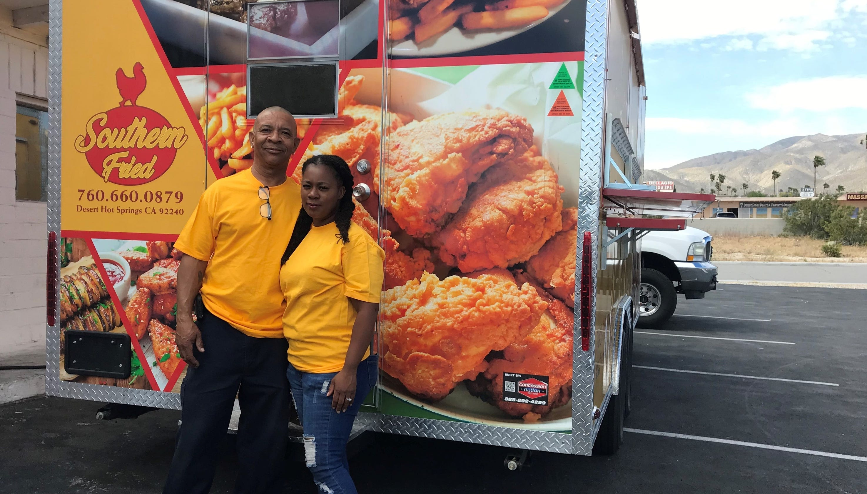 Desert Hot Springs Finally Has A Food Truck Southern Fried