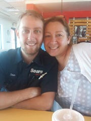 Sean Harris and his mother Dawn Bybee