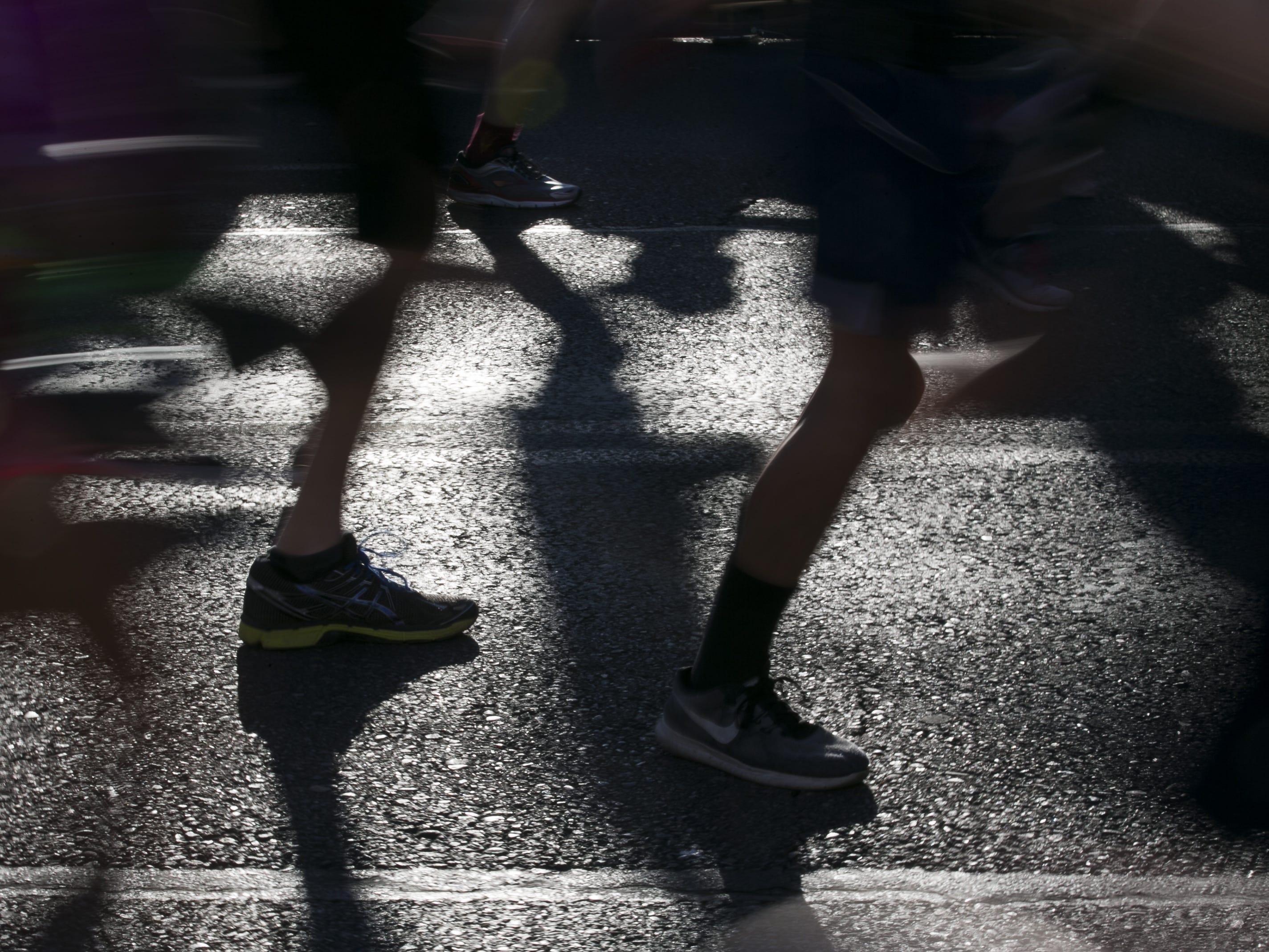 Runners participate Pat's Run 2019 in Tempe on April 27, 2019.