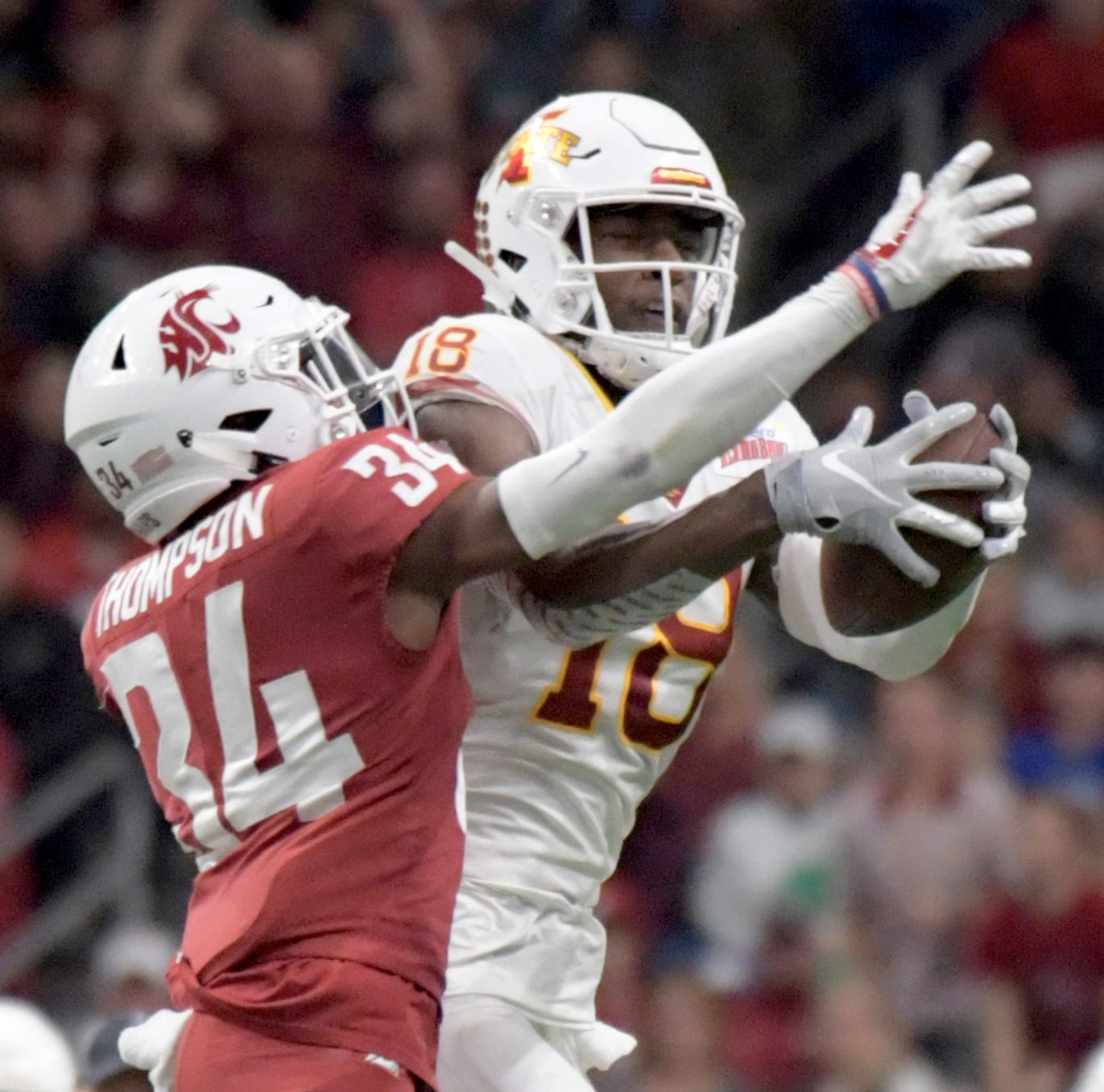 Cardinals select Iowa State's Hakeem Butler with the first pick in fourth round of draft