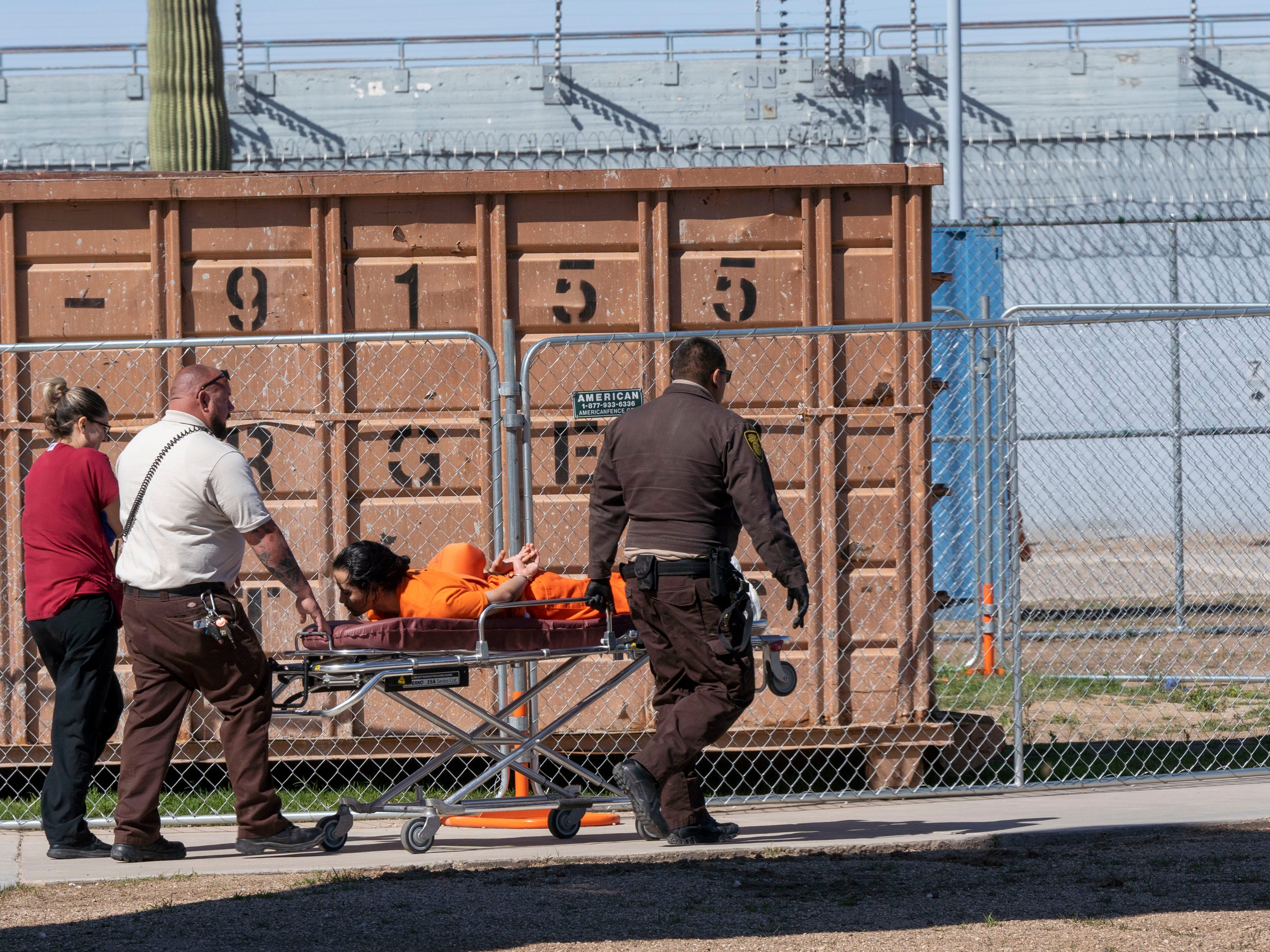 An inmate has been removed from one of the unit to get some medical attention, according to Carson A. McWilliams, Prison Operations Director of Arizona Department of Corrections. They are struggling with staffing due to decade-long wage freeze has led many corrections officers to leave jobs in Arizona's state prisons.