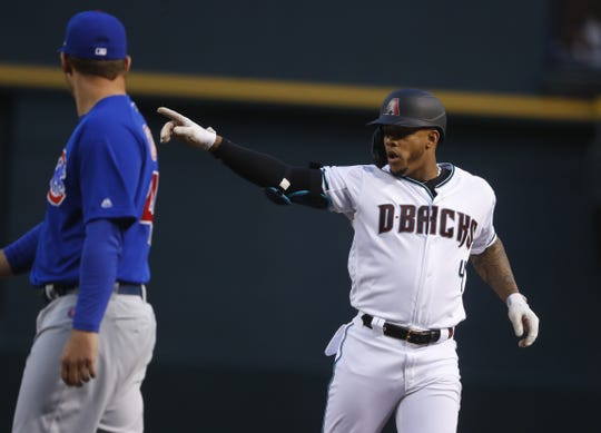 Diamondbacks super utility player Ketel Marte pointing out all of the haters going into this season.