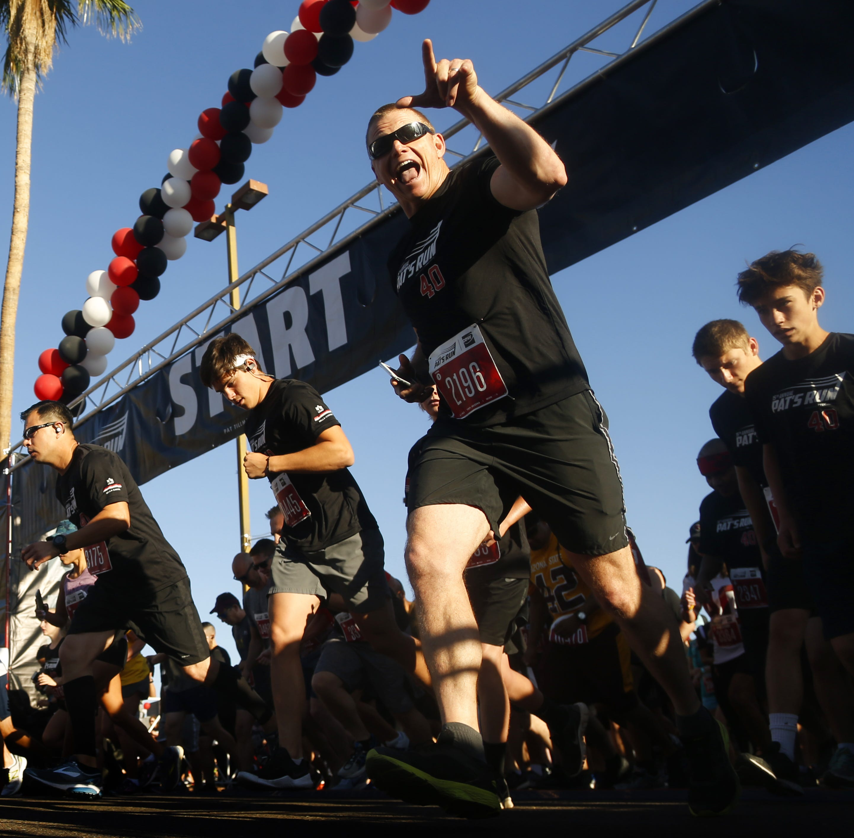 Thousands participate in 15th annual Pat's Run to honor Pat Tillman