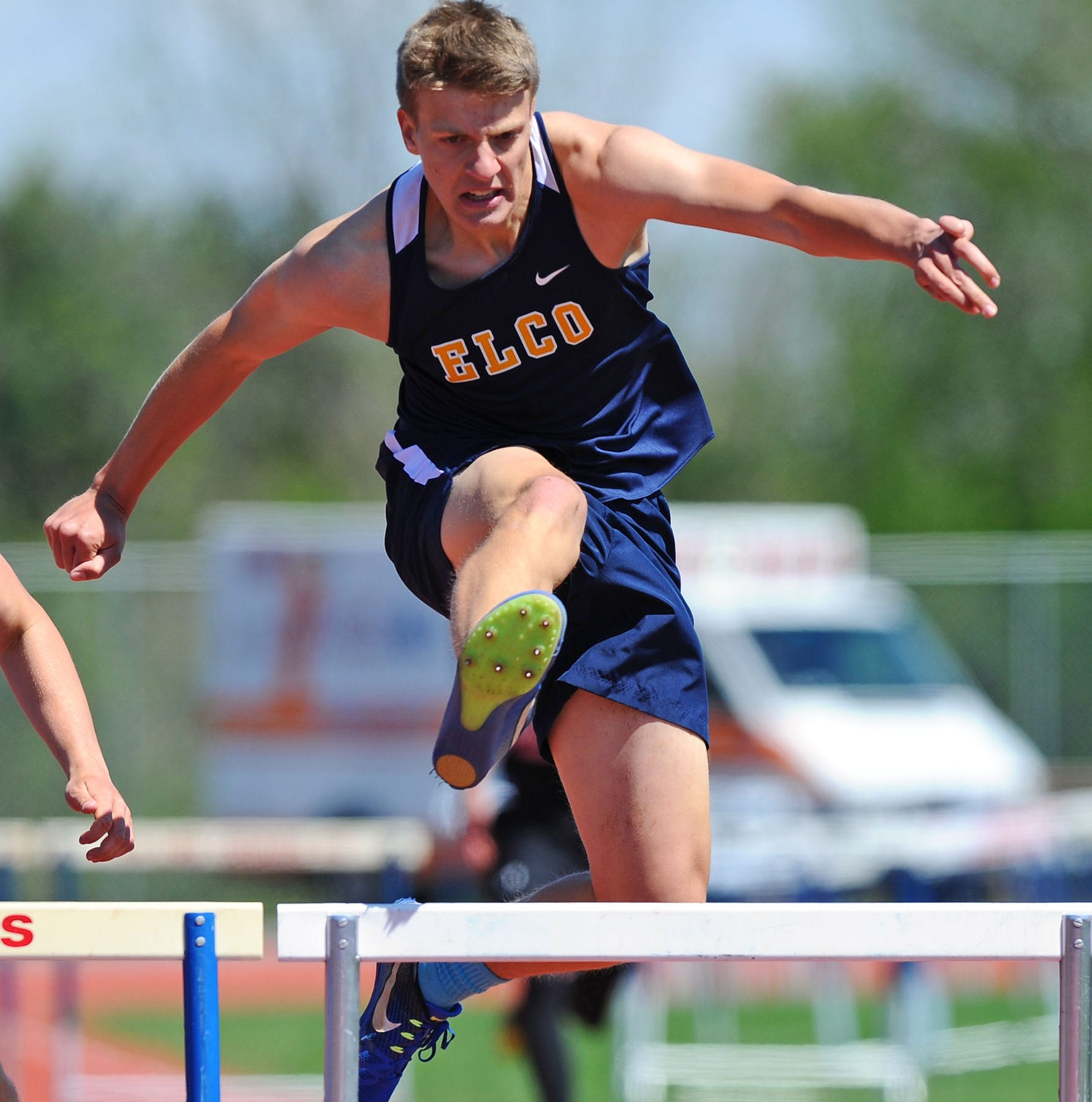Elco track and field teams enjoyed sweeping success in run to section titles