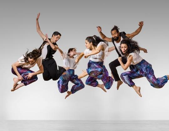 "A scene from Vanaver Caravan's ""Turn! Turn! Turn!"" dance performance."