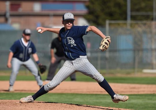 Damonte sophomore Matt Sigafoos pitches against Reno on Thursday.