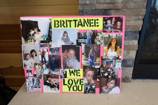 A poster board shows memories of Brittanee Drexel, the Chili teen who went missing in Myrtle Beach, South Carolina, in 2009.