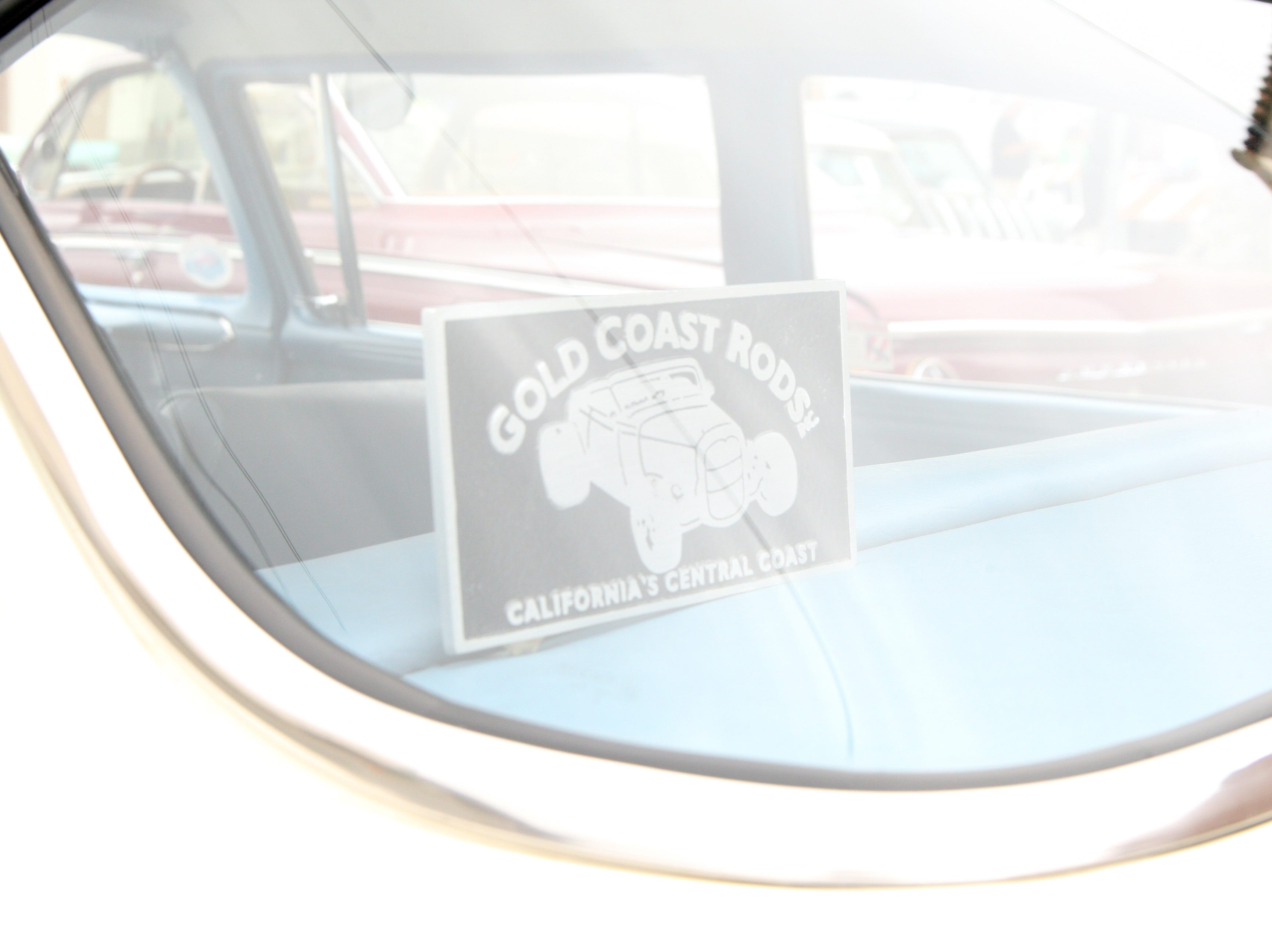 Some of the cars at the car show belonged to members of Gold Coast Rods, located in Monterey. April 27, 2019.
