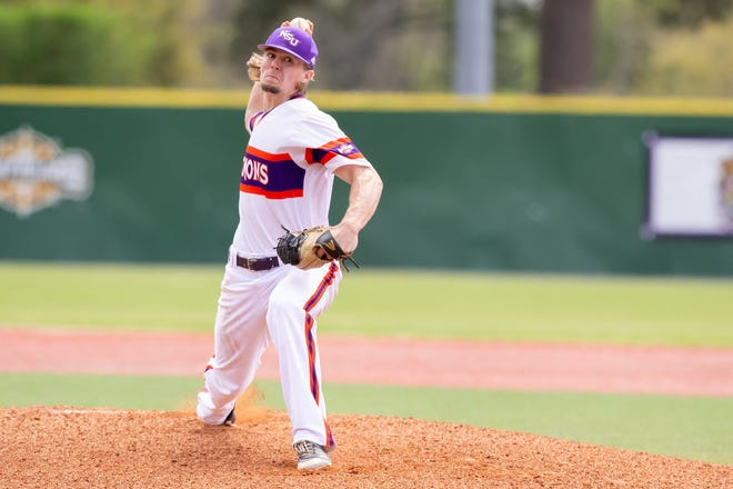 Nathan Jones tossed his second straight complete-game shutout Saturday, scattering four hits in a 7-0 win at Stephen F. Austin.