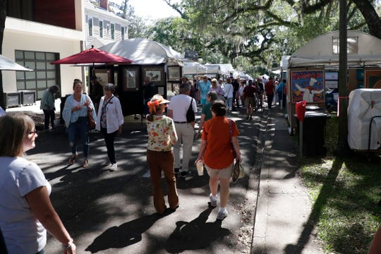 LeMoyne's  Chain of Parks Art Fest Festival, shown in 2019, was canceled due to the coronavirus pandemic. LeMoyne received a grant from the Knight Foundation.