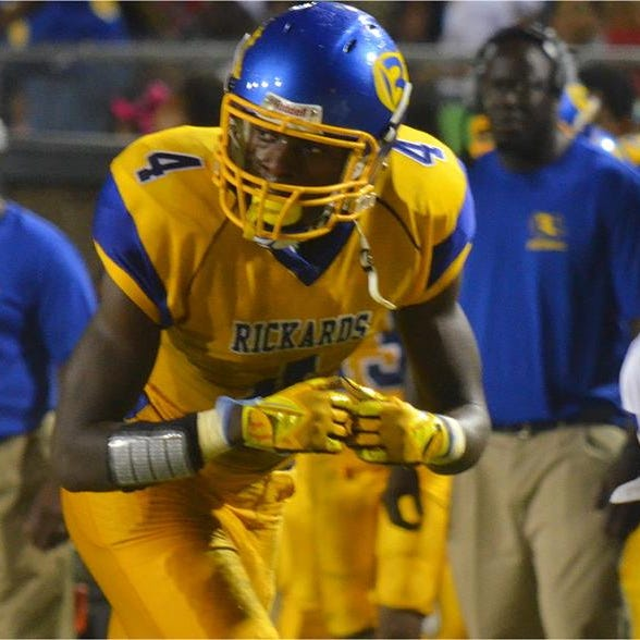 Former Rickards star Stephen Denmark drafted by Chicago Bears