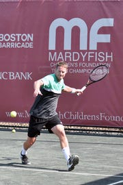 Christian Vinck finished second at the Mardy Fish Tournament pre-qualifying tournament in Vero Beach.