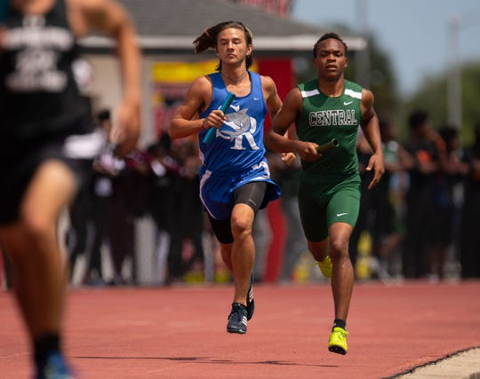 Several Treasure Coast high schools competed in the Class 3A and 4A regional track meet Saturday, April 27, 2019, at South Fork High School in Tropical Farms.