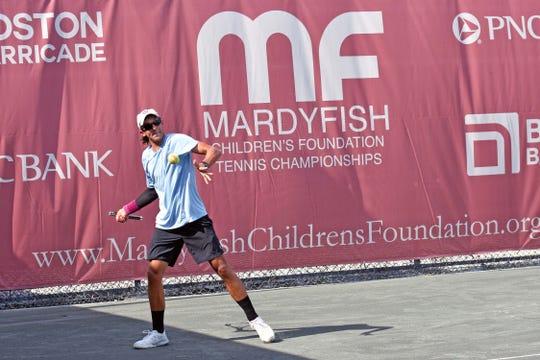 Naples 18-year-old Magnus Johnson won the Mardy Fish Tournament pre-qualifying tournament in Vero Beach.