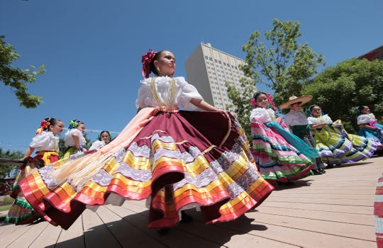 The City of El Paso held their 23rd Annual Dia de los Ninos, Dia de los Libros event at its new location at San Jacinto Plaza Saturday. Free books, food trucks, games and over 40 booths were available to children at the event.